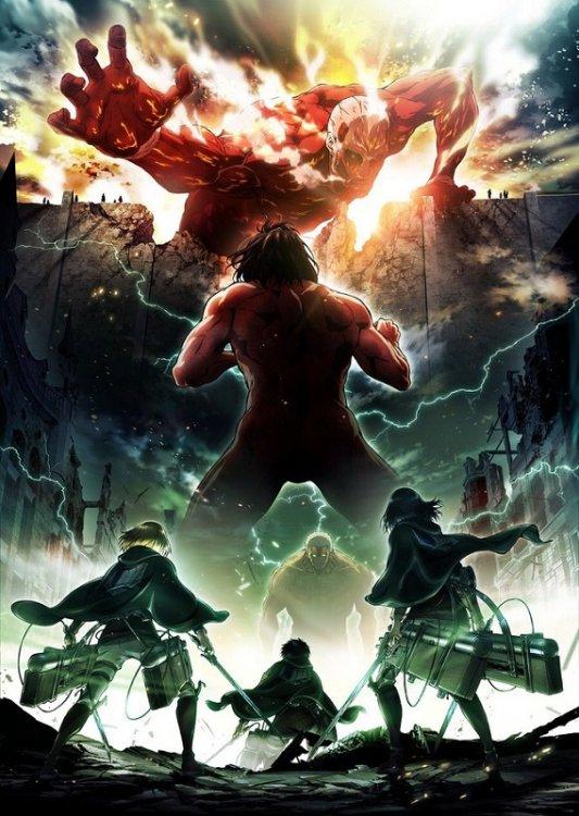 Shingeki no Kyojin 2. Sezon Poster